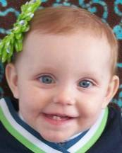 ESTELLA LOVEMOREDOB: Feb 13, 2012Missing Date: Jan 27, 2013Age Now: 11 Month(s)Missing City: MARANAMissing State :  AZ